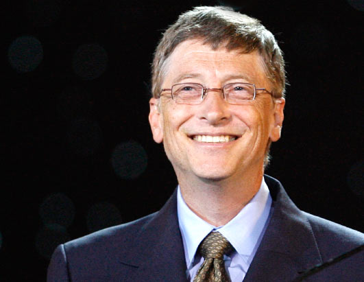 Gates Says He's Very Happy With Microsoft's Nadella