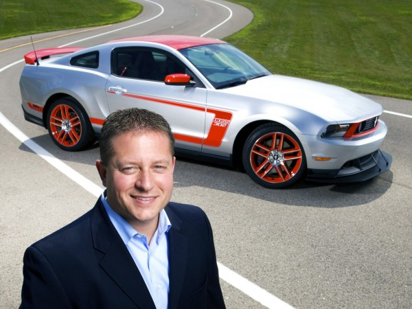 Dave Pericak, Mustang chief engineer with the 2012 Mustang Boss 302 Laguna Seca. (08/16/2010)